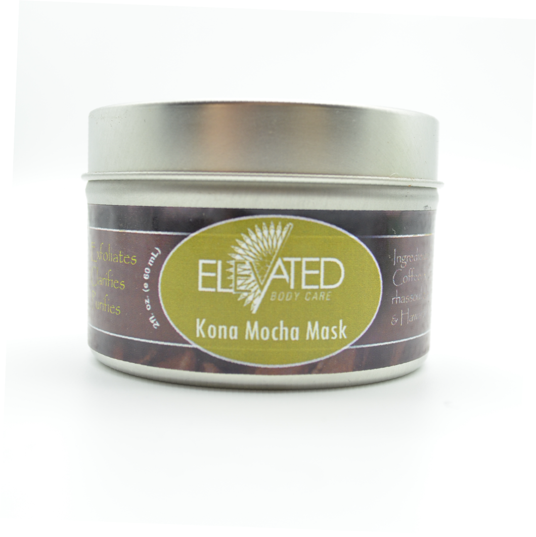 ELEVATED - Kona Mocha Facial Mask - 4oz