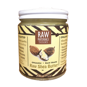 RAW Materials - Shea Butter RAW, Wild Crafted, Organic, Fair Trade
