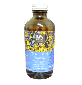 RAW Materials - Witch Hazel Distillate - Aclohol & Scent FREE 8oz