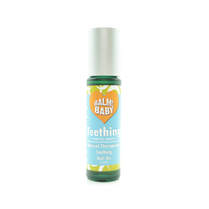 BALM! Baby - Teething ROLL-ON - A Natural Herbal TOPICAL Roll-on for the gums for teething babies  - 10ML