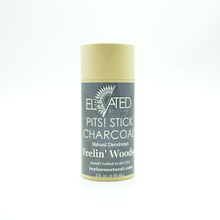 Load image into Gallery viewer, ELEVATED - PITS! CHARCOAL STICK Natural Deodorant - 2oz