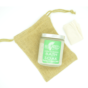 Soak + muslin bag + ECO friendly, Zero-waste burlap bag