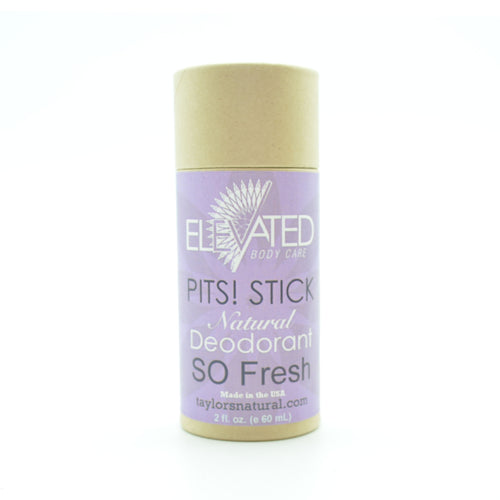 ELEVATED - PITS! STICK Natural Deodorant - 2oz