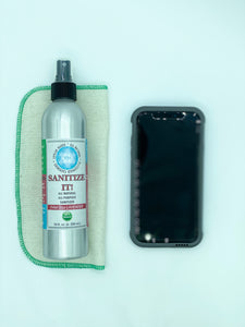 SANITIZE IT!  Natural Household, Car & Surface Sanitizer Travel OR Fam Size