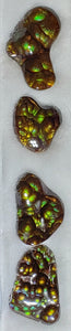Fire Agate matched suite