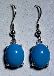 Turquoise Earrings Silver