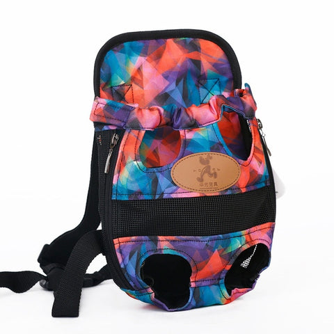 Colorful Dog Backpack