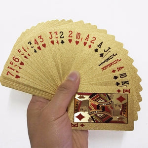 Luxury Gold Playing Cards