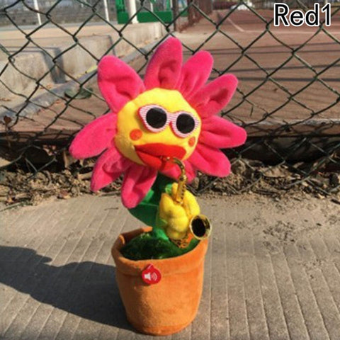 Christmas gift Dancing Sunflower Toy