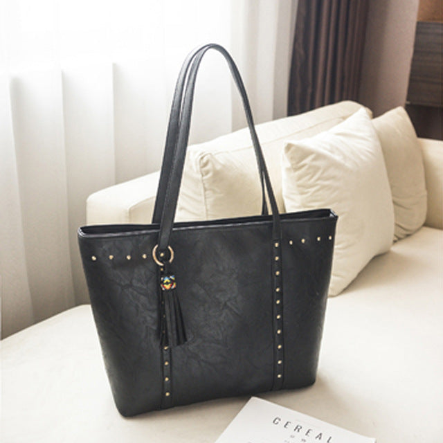 Casual Leather Handbags For Women