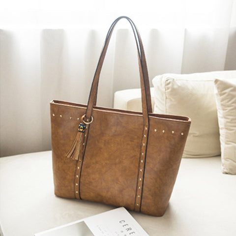 Image of Casual Leather Bags For Women