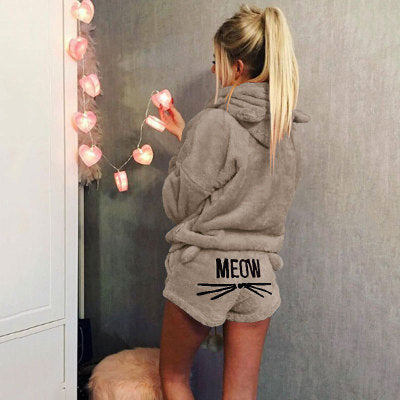 Cat Meow Pajama Set