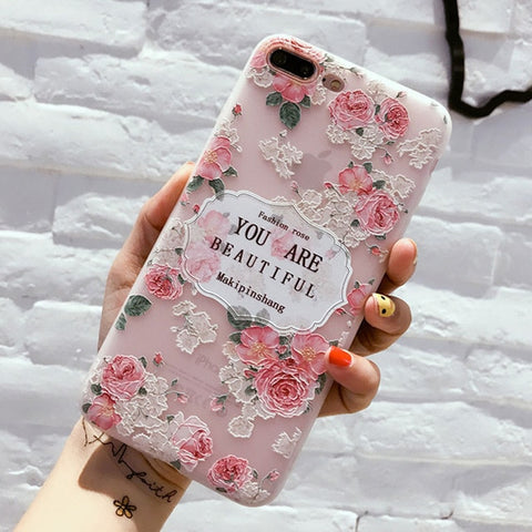 Transparent Soft Silicone Phone Case