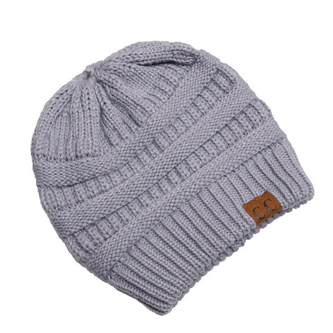 Soft Knit Beanie For Girls