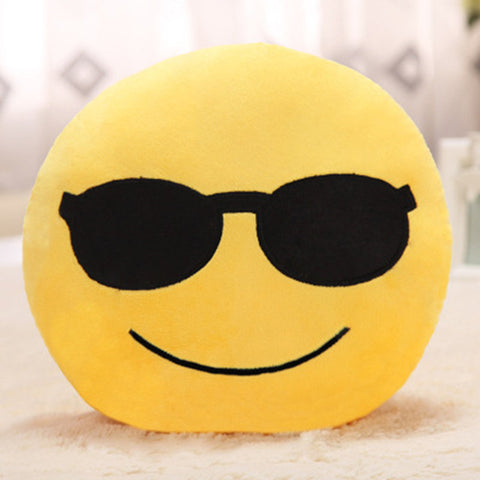 Emoji Emotion Pillow Cover