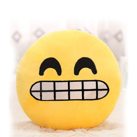 Image of Angry Face Emijo Pillow Cusion Cover