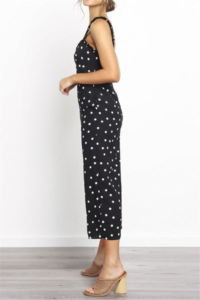 WanaDress Suspender Pocket Wide Leg Jumpsuits