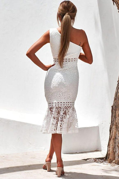 WanaDress Tamara Dress in White Lace Dress