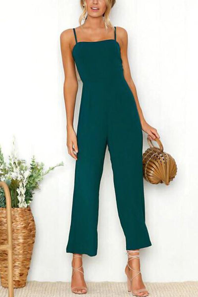WanaDress Spaghetti Strap One-piece Jumpsuit (2 colors)