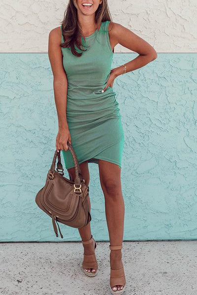 WanaDress Tank Sleeveless Sheath Mini Dress