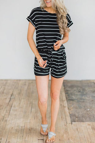WanaDress Casual Striped Rompers