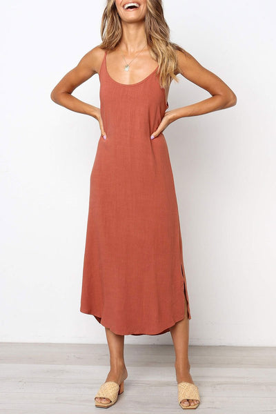 WanaDress Casual Spaghetti Strap Dress (2 colors)