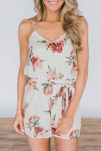 WanaDress Floral Printed One-piece Romper