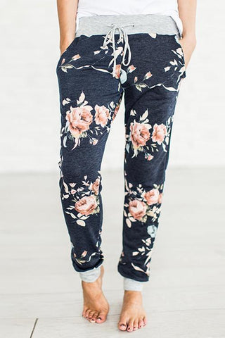 WanaDress Floral Loose Casual Pants