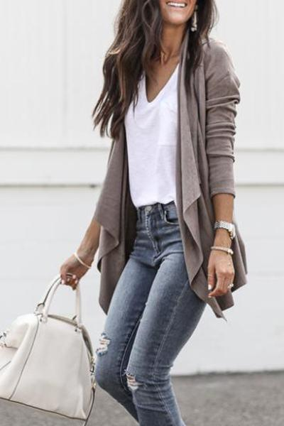 WanaDress Chic Asymmetric Cardigan