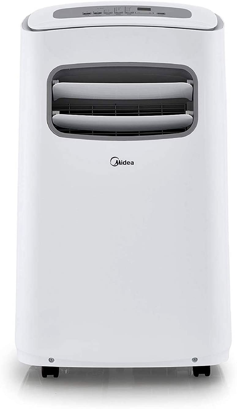 Midea Smart 3-in-1 Portable Air Conditioner, Dehumidifier, Fan for Large Rooms up to 275 sq ft 12,000 BTU (6,500 BTU SACC) control with Remote, Smartphone or Alexa