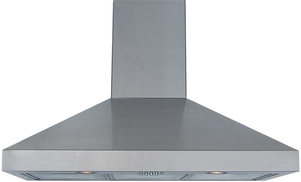 Windster Hood RA-7748SS Residential Stainless Steel Wall Mount Range Hood Set, 48-Inch