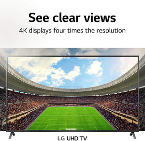 LG 75UN8570PUC Alexa BuiltIn UHD 85 Series 75-inch 4K Smart UHD TV (2020 Model)