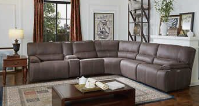 BAILEY FABRIC SECTIONAL - POWER RECLINE