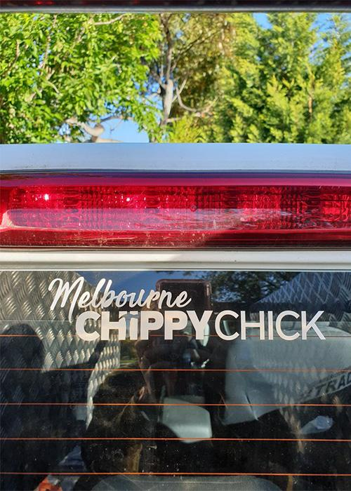 Melbourne Chippy Chick Stickers