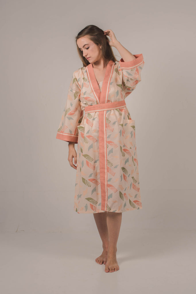 Stara Robe in Spiral Blush