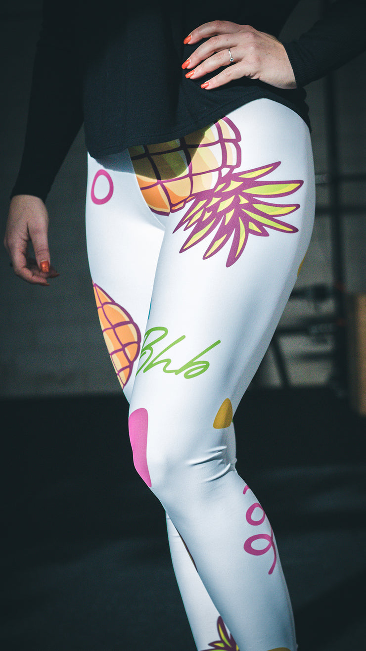 Vrouwen -  Pineapple legging - Squat proof!