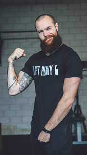 Lift heavy & Be humble - T-shirt