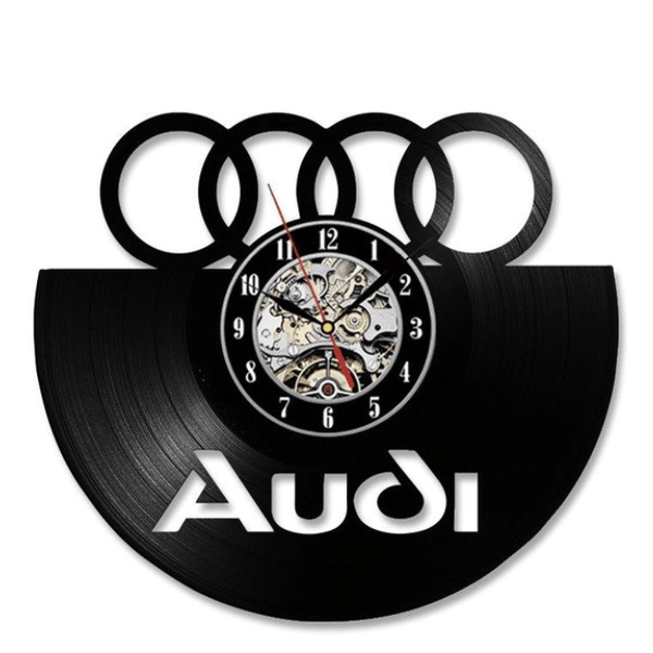 Audi Vinyl Clock Clock Canvas
