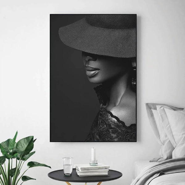 Beauty Canvas Art Clock Canvas