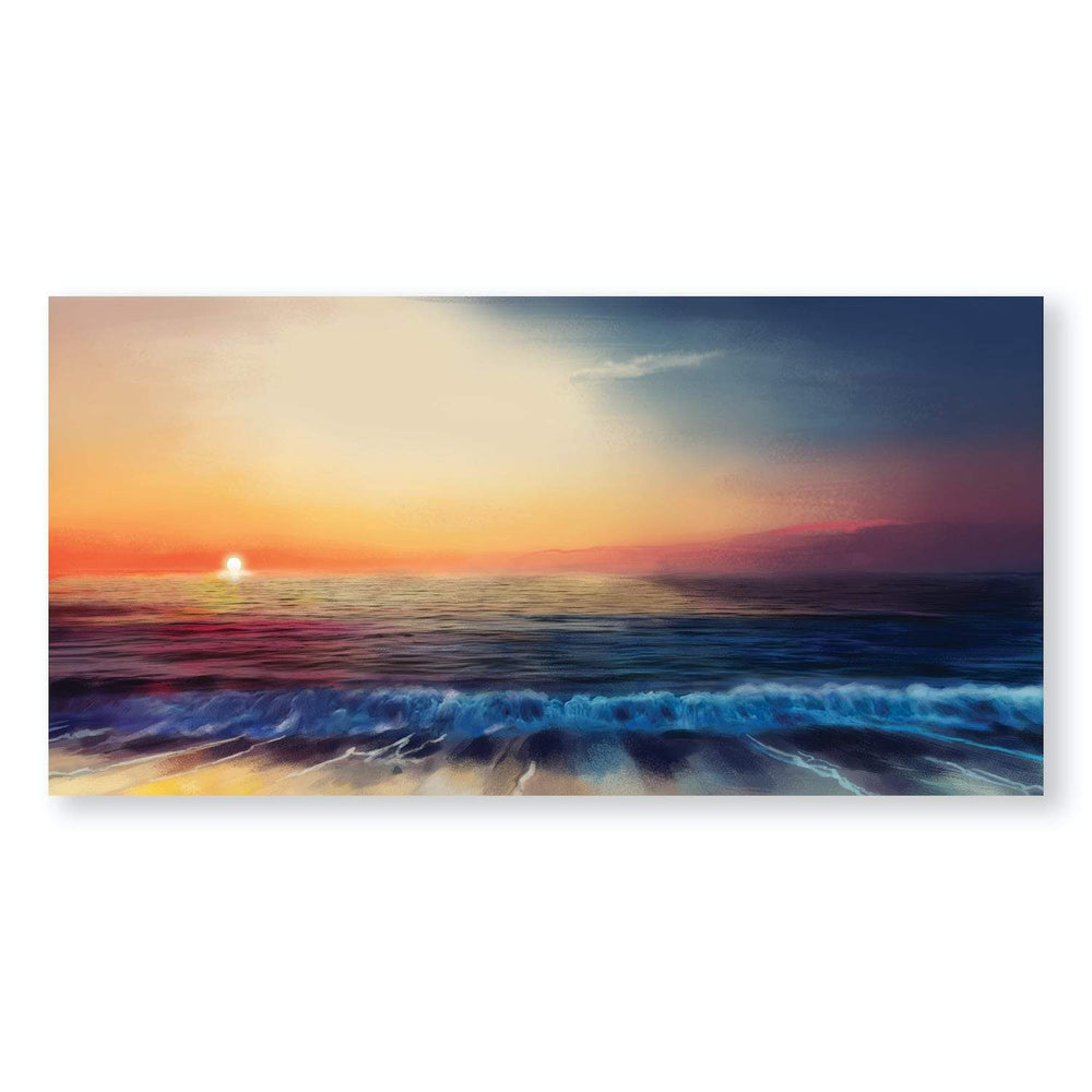 Calm Shores Canvas Art Clock Canvas