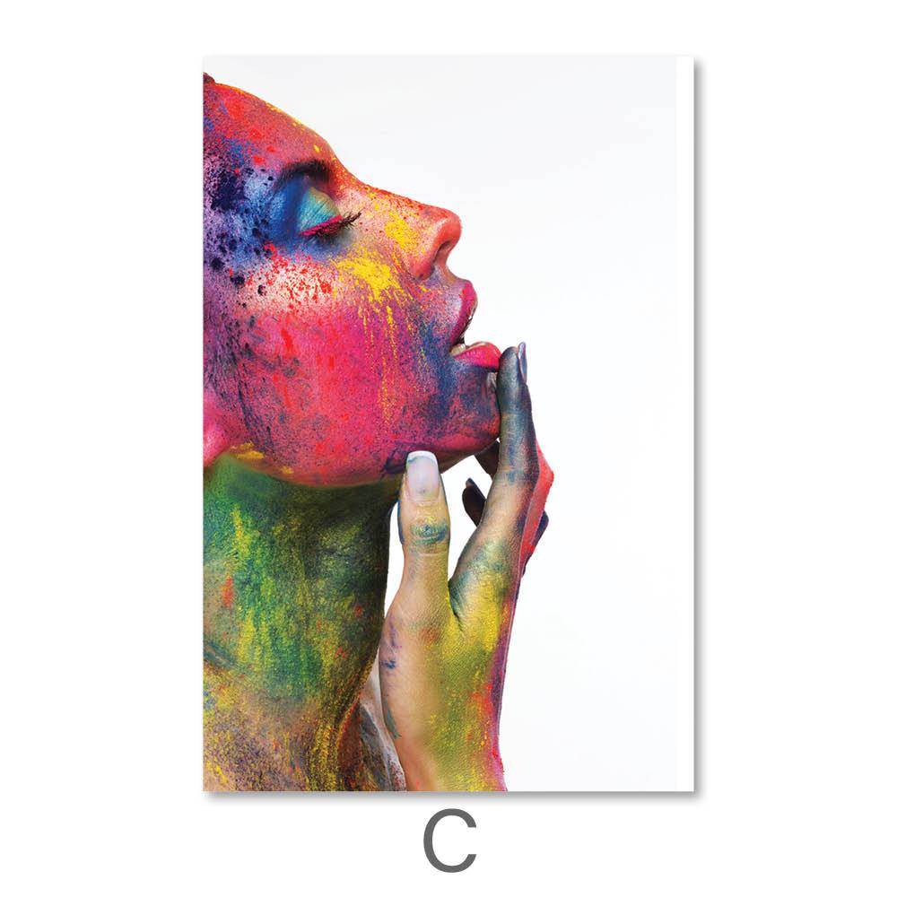 Ecstasy Canvas Art C / 40 x 50cm / No Board - Canvas Print Only Clock Canvas