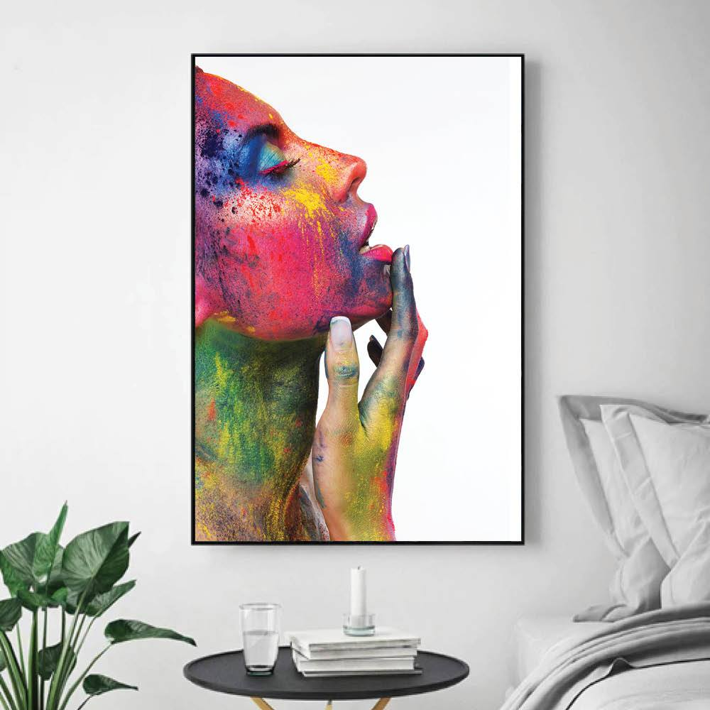 Ecstasy Canvas Art Clock Canvas