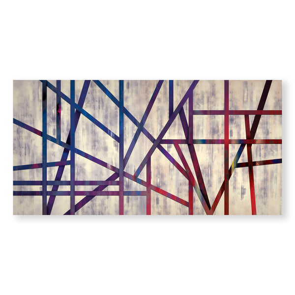 Eternal Divide Canvas - Single Panel Art Clock Canvas