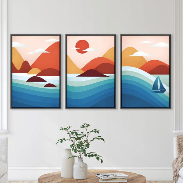 Flowing Landscape Canvas