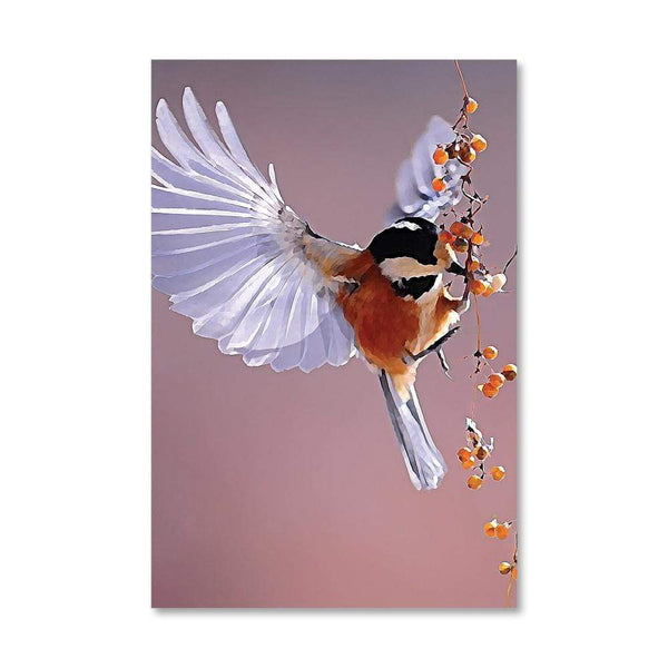 Songbird Canvas Art 40 x 50cm / No Board - Canvas Print Only Clock Canvas