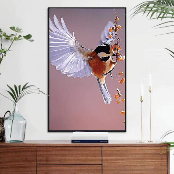 Songbird Canvas Art Clock Canvas