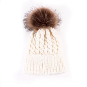 Baby Pompon Hat