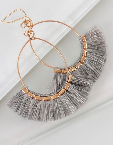 Tassel Earrings | Choose Color