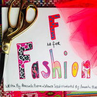 F is for Fashion | Children's Book