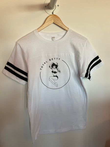 TOTAL BETTY Football Jersey Tee